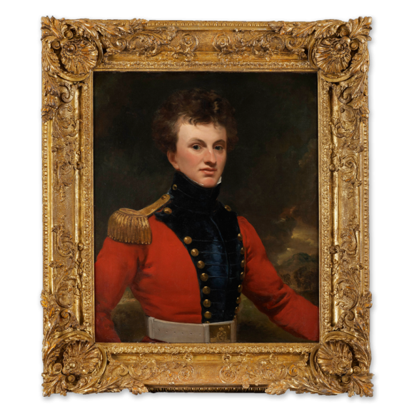 Portrait of an Officer of the East India Company Image 2