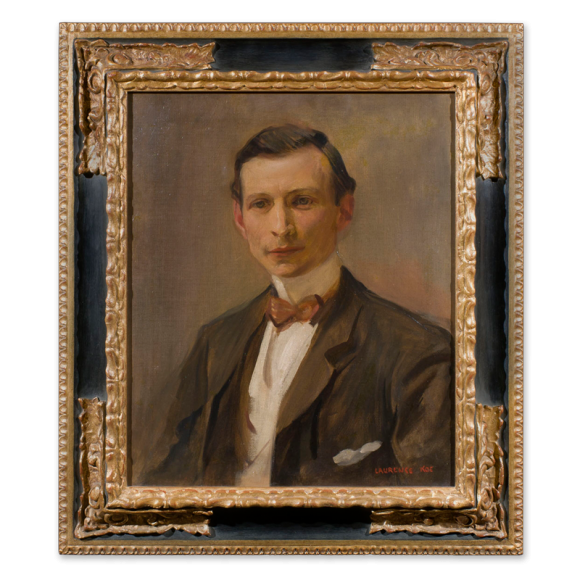 Portrait of the artist John Da Costa  R.O.I  R.P. Image 2