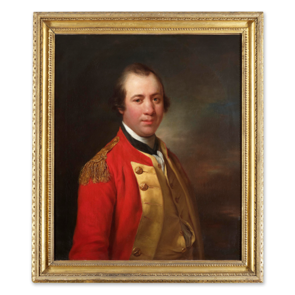 Portrait of Captain William Allanby (1735-1808) Image 1