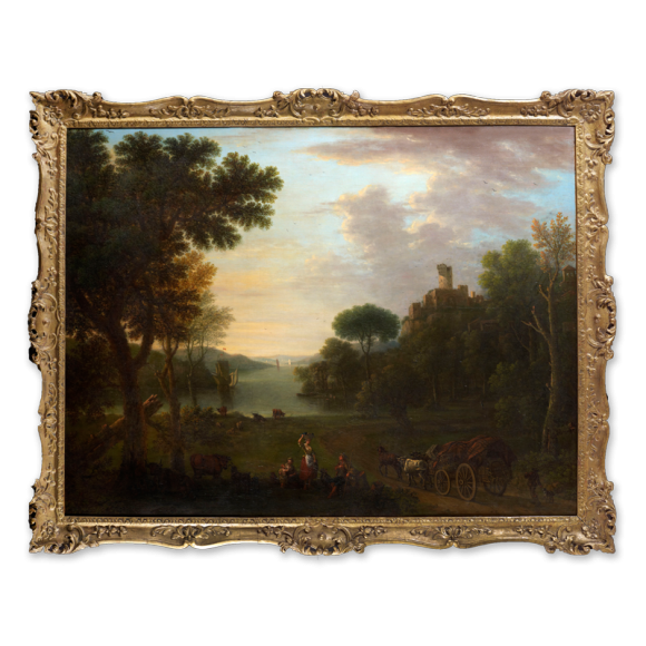 Classical Landscape with Figures Image 1