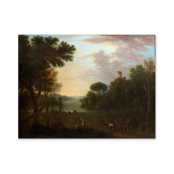Classical Landscape with Figures Image 2