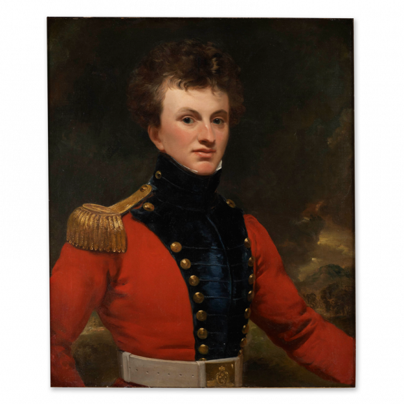 Portrait of an Officer of the East India Company Image 1