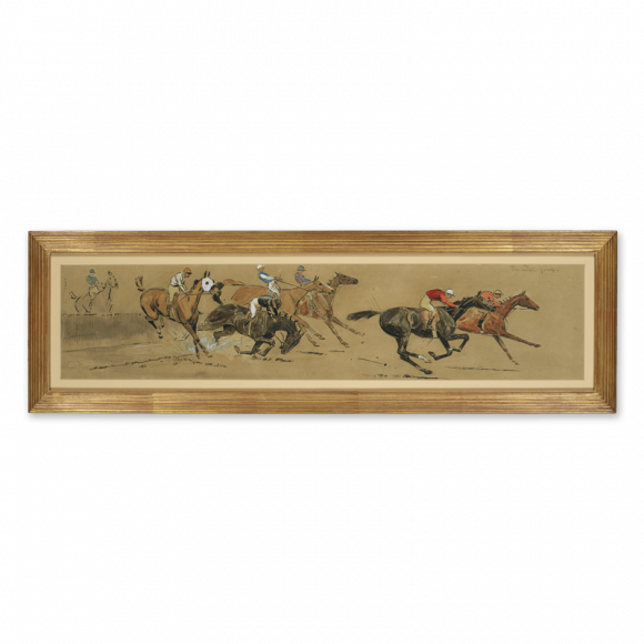 Steeplechasing & The Waterjump - a pair Image 2