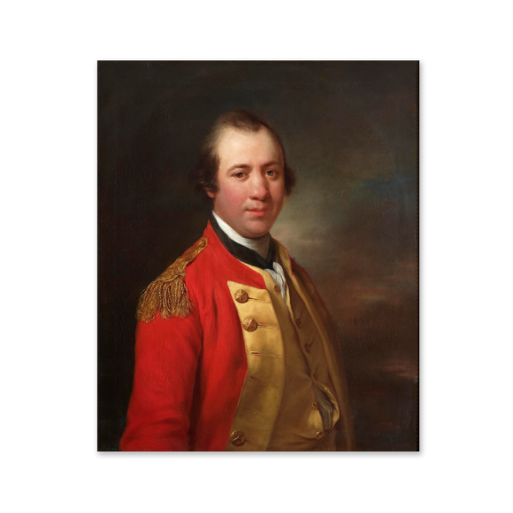 Portrait of Captain William Allanby (1735-1808) Image 2