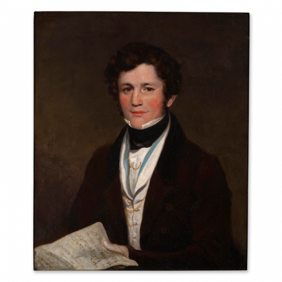 Portrait of Sir Henry Rowley Bishop (1786-1855) Image 1