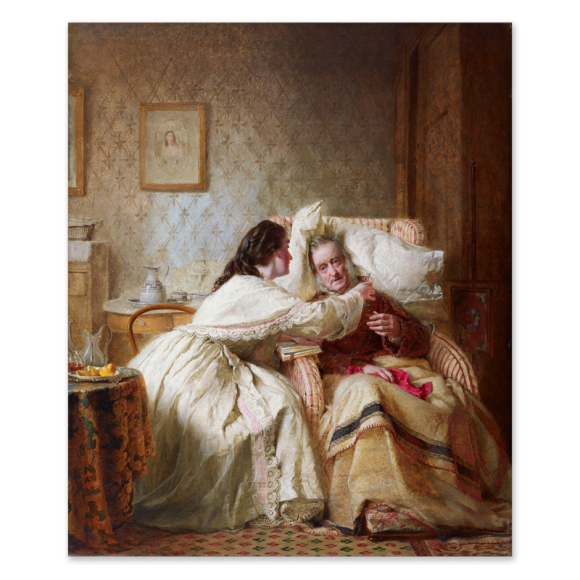 Woman's Mission: Comfort of Old Age Image 1