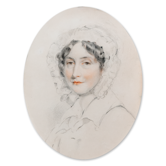 Portrait of a lady, head and shoulders Image 2