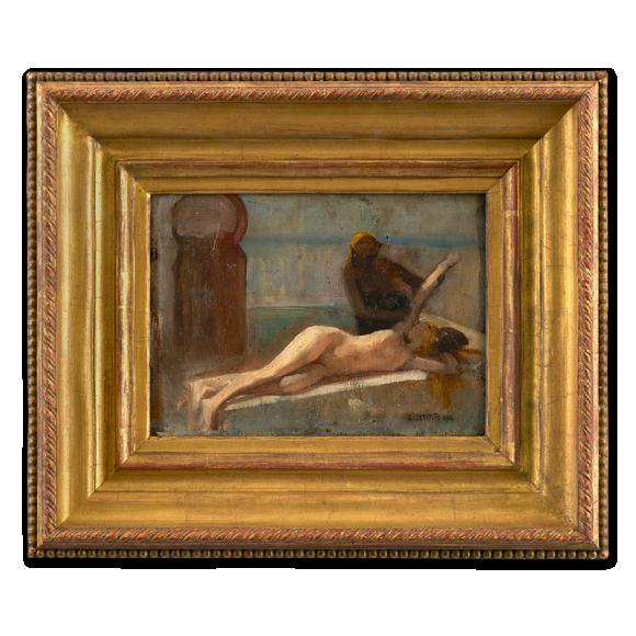 Sketch for Le Massage, Scene de Hammam Image 1