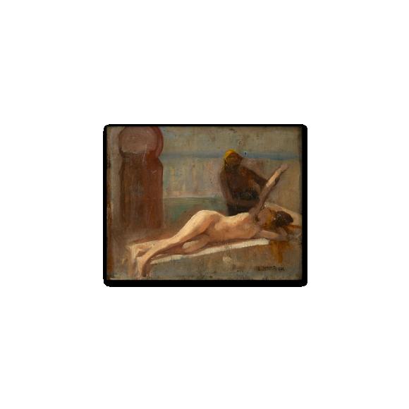 Sketch for Le Massage, Scene de Hammam Image 2