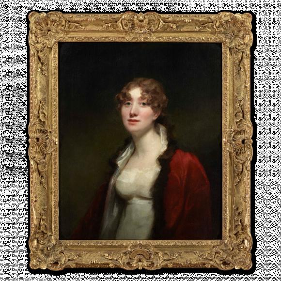 Portrait of Maria Sophia Abercromby, Mrs. David Monypenny, (Lady Pitmilly (1781-1842)) Image 2