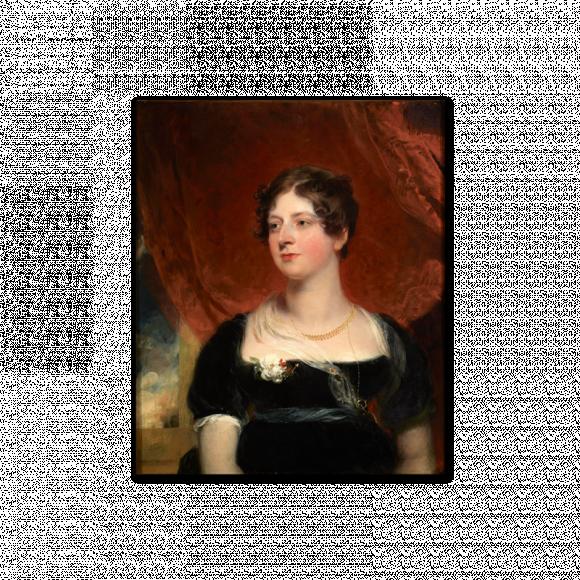Portrait of Miss Glover of Bath Image 2