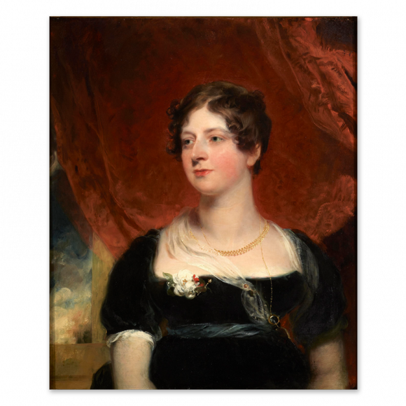 Portrait of Miss Glover of Bath Image 1