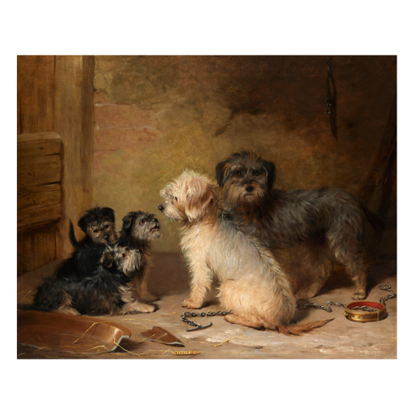 The Dandie Dinmont Family Image 1