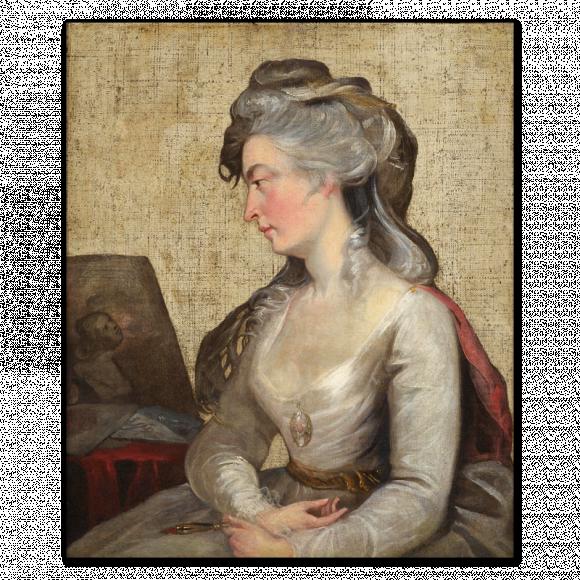 Portrait of the sculptor Anne Seymour Damer (1748-1828) Image 1