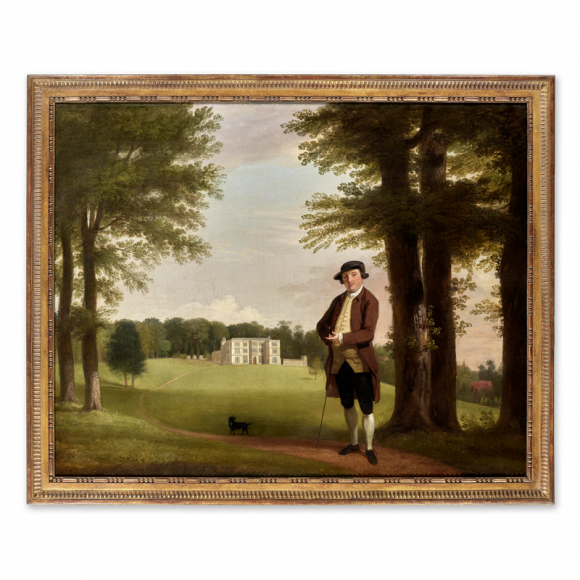 Powlett Wrighte (the Younger), standing before Englefield House Image 2