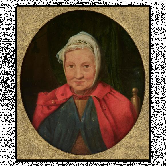 Benjamin West's Landlady in Rome Image 1