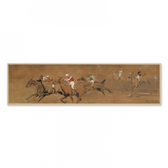 Steeplechasing & The Waterjump - a pair Image 3