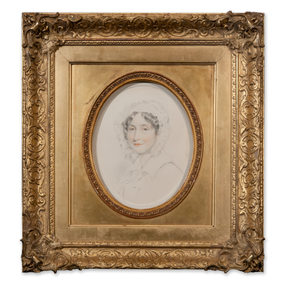 Portrait of a lady, head and shoulders Image 1