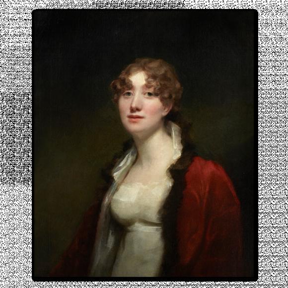 Portrait of Maria Sophia Abercromby, Mrs. David Monypenny, (Lady Pitmilly (1781-1842)) Image 1